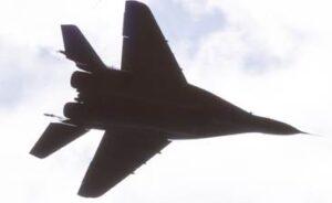 Das russische Mehrzweckkampfflugzeug Mikojan-Gurewitsch MiG-29