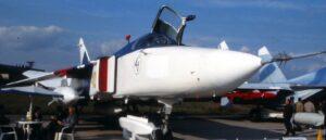 Einsatz der Frontbomber Su-24 in Syrien