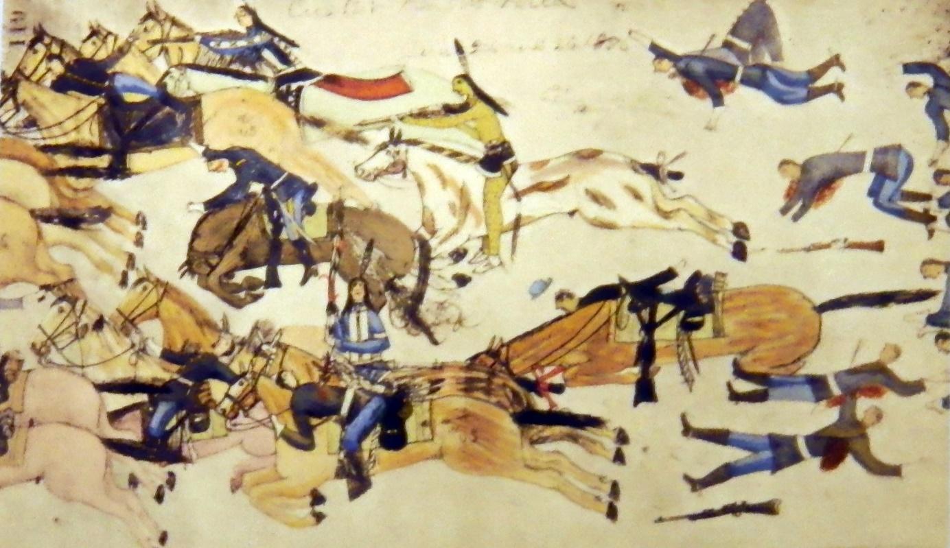 Indianischer Patriot Tatanka Iyotanka: Durch die Amerikaner belogen, betrogen und ermordet